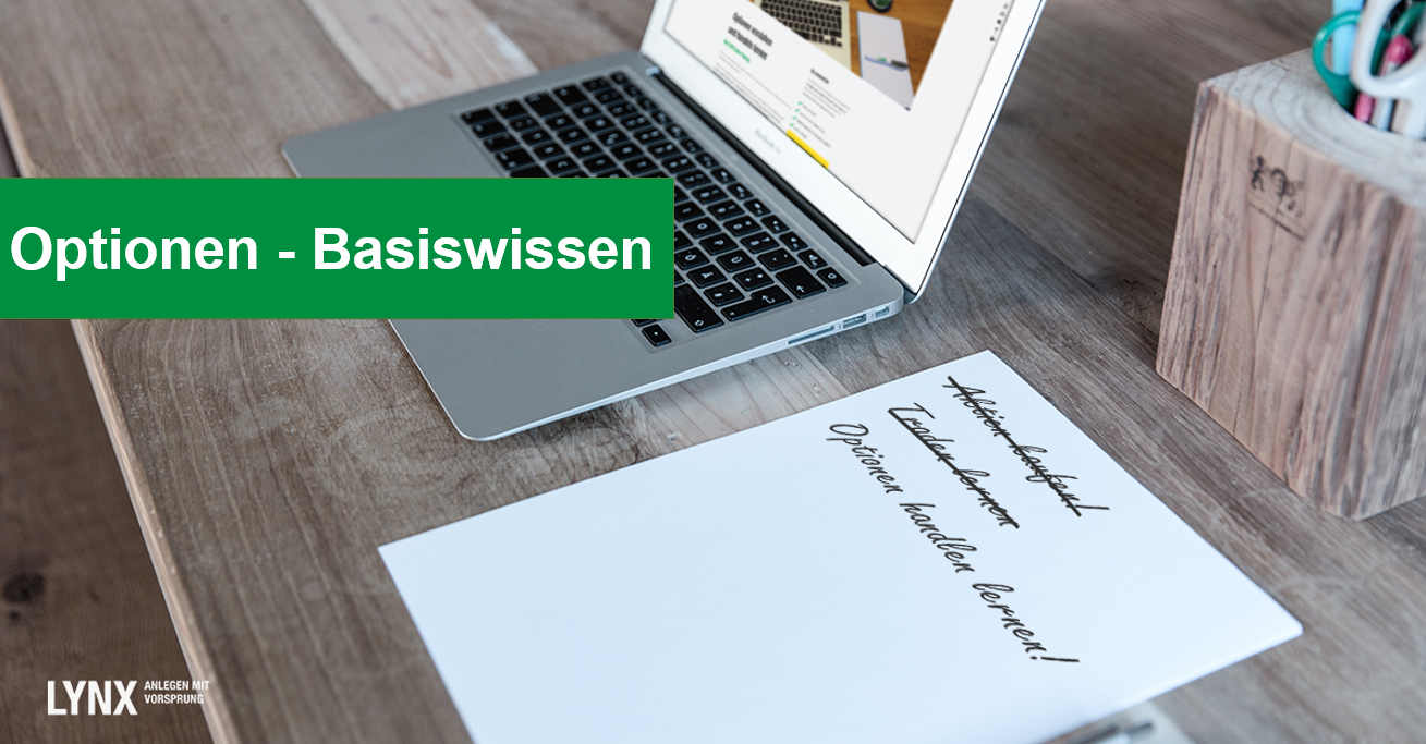 Optionen - Basiswissen Option - 01